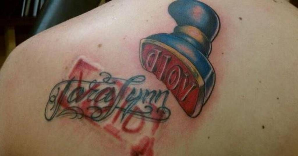 Breakup Tattoo Wins Tattoos Gone Wrong Cover Tattoo Cover Up