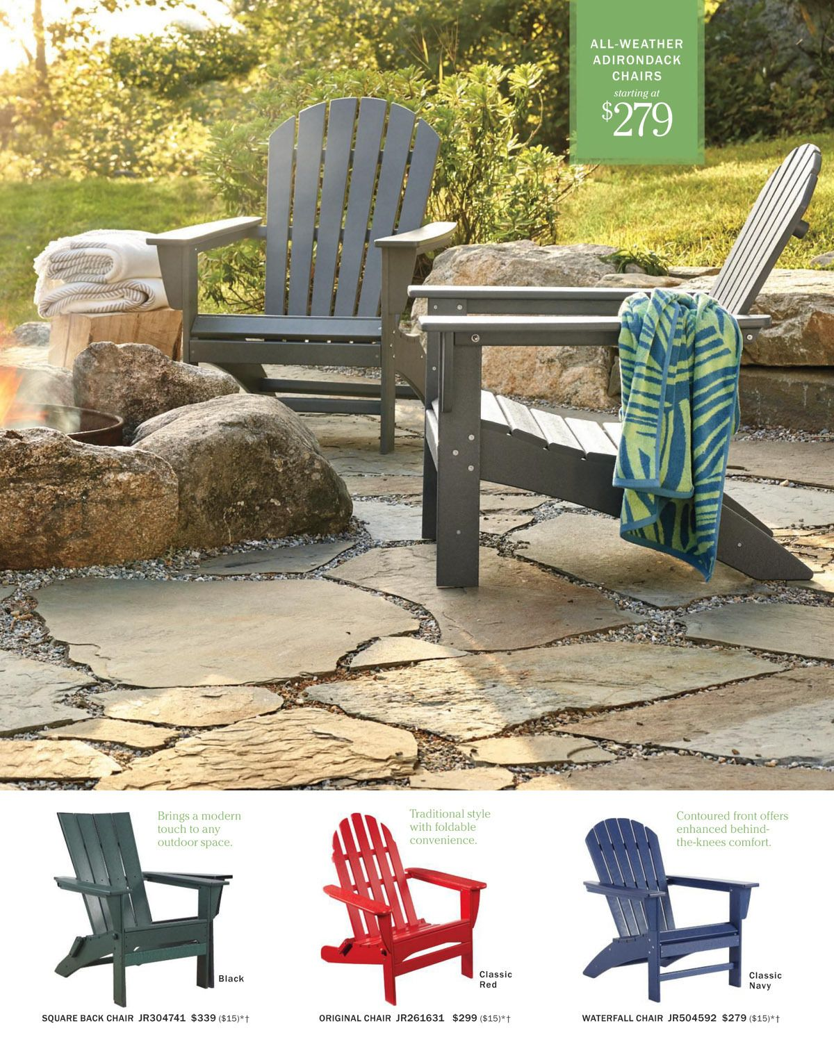 L L Bean Catalog Jr Summer Home Patio Furniture Collection