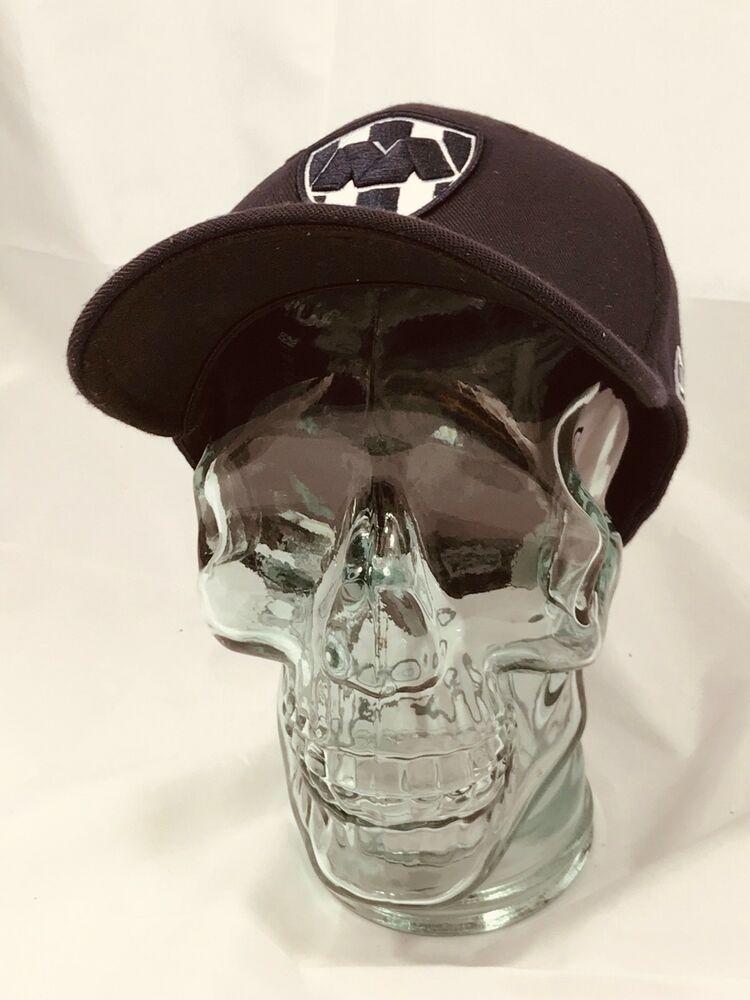 e2f7ac107 New Era 3930 Rayados de Monterrey FlexFit Hat (Dark Navy) Mexico Soccer Cap  | eBay