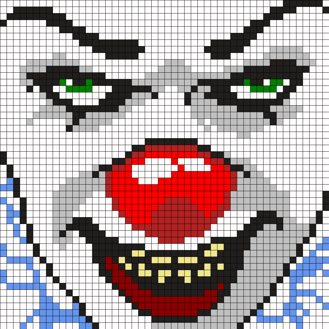 This is a photo of Dramatic Free Perler Bead Patterns