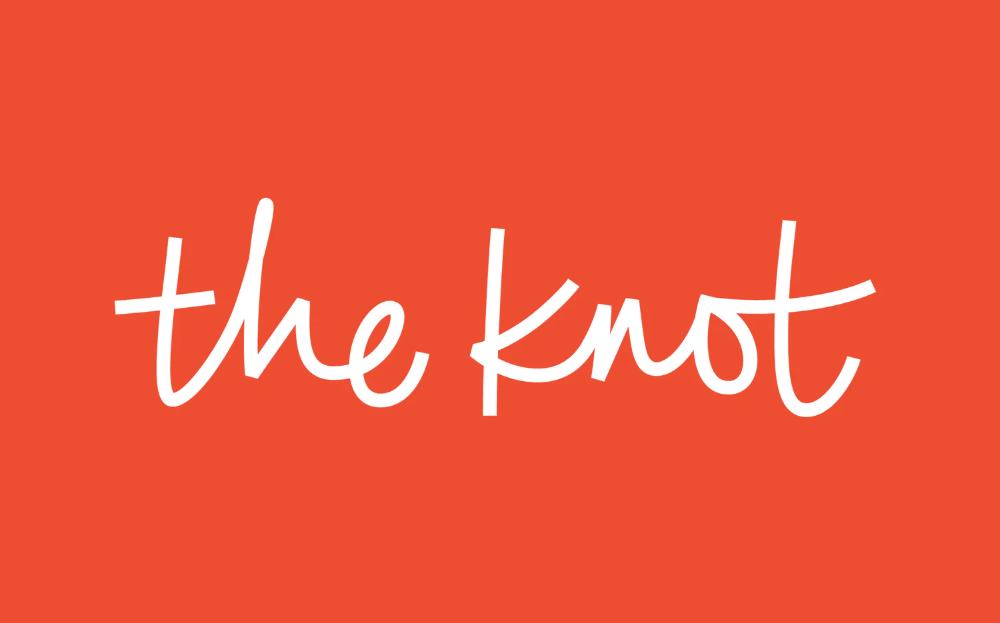 The Knot Pentagram Word Mark Logo Wedding Planning Websites Type Inspiration