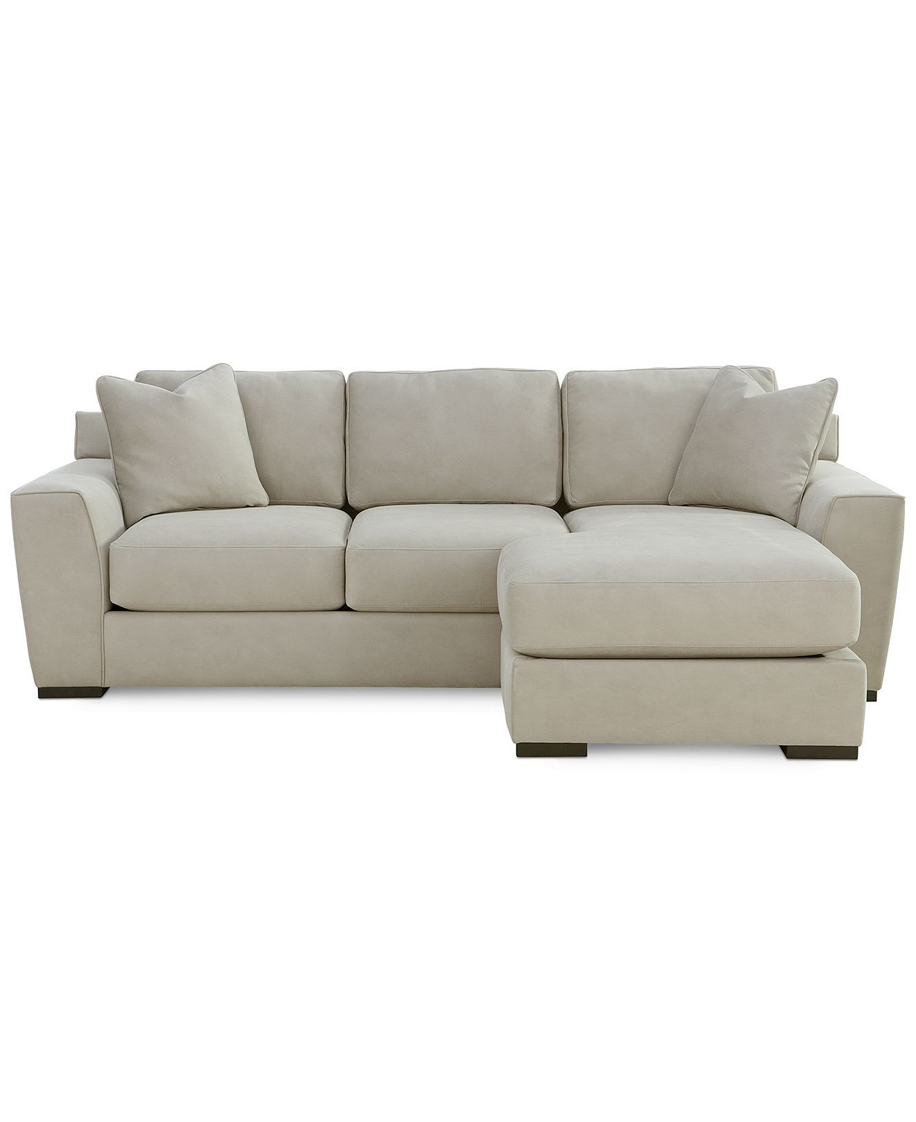 Chaise Sofa Loui Fabric Sectional Sofa Piece W X D X Sofas OnlineFurniture