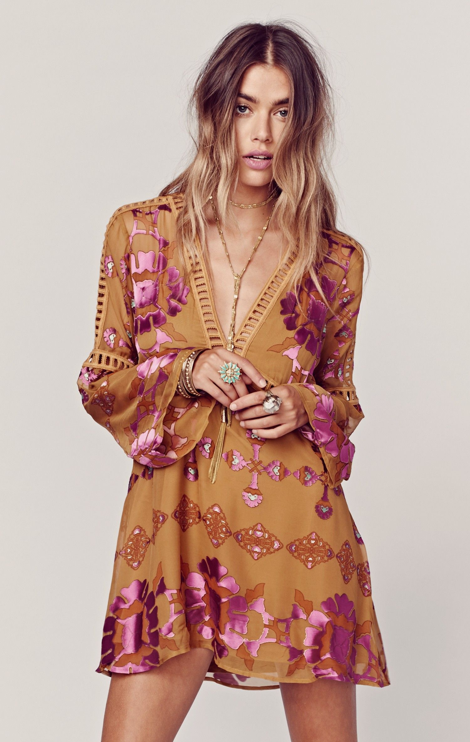 For Love And Lemons Barcelona Dress Boho Dresses Long Fashion Barcelona Dress