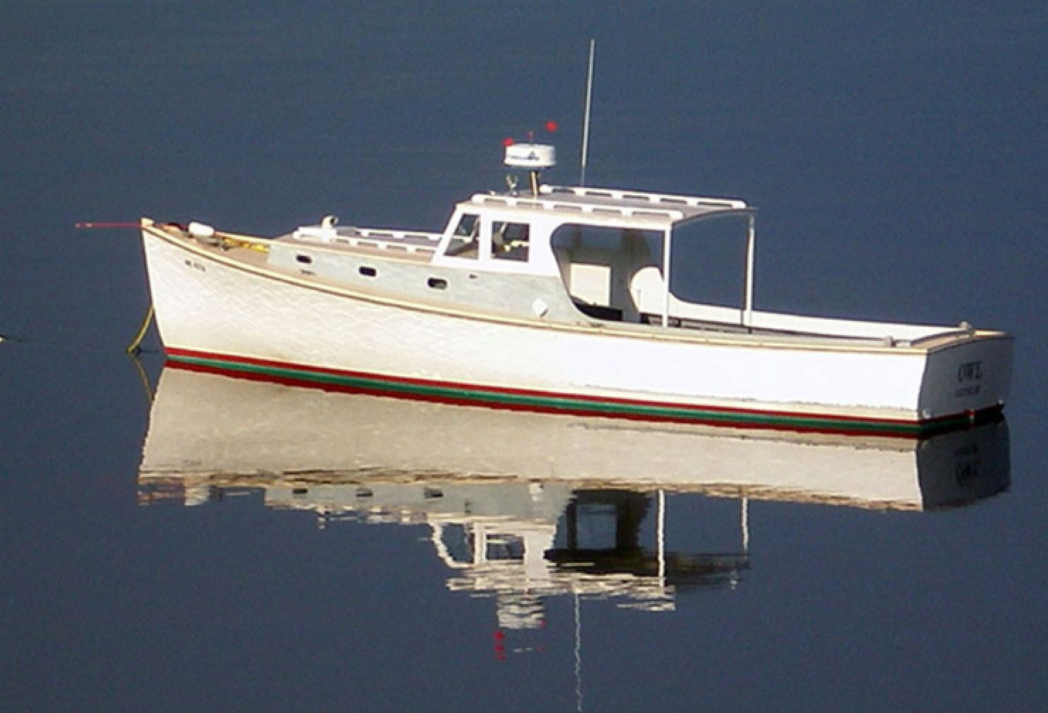 Owl A Wooden Lobster Yacht Built By Newbert Wallace In 1957 Boat Design Wooden Boat Plans Boat Building