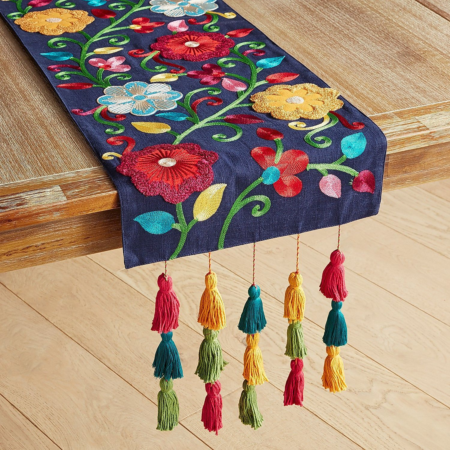 Fiesta Floral Table Runners Pier 1 Imports Applique Table