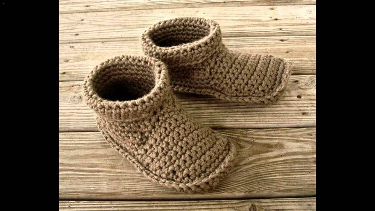 crochet slippers free pattern | Crochet, Knit, and Macrame and ...