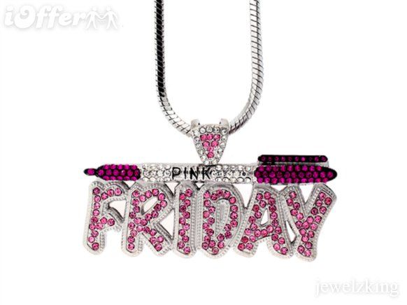 NICKI MINAJ'S ICED OUT PINK FRIDAY PIECE & FRANCO CHAIN