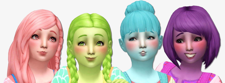 Sims  Hair Colour Download