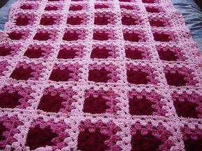 Image result for mitered crochet granny square blanket