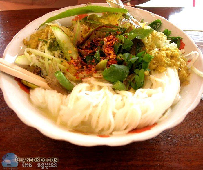 Nom Banh Chok Samlor Khmer