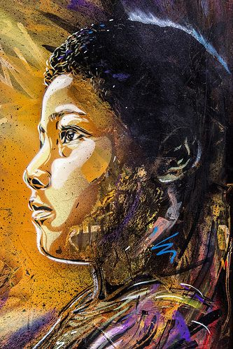C215 in London. street art