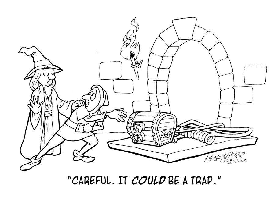 It's a Trap by Gamecreature.deviantart.com on @deviantART