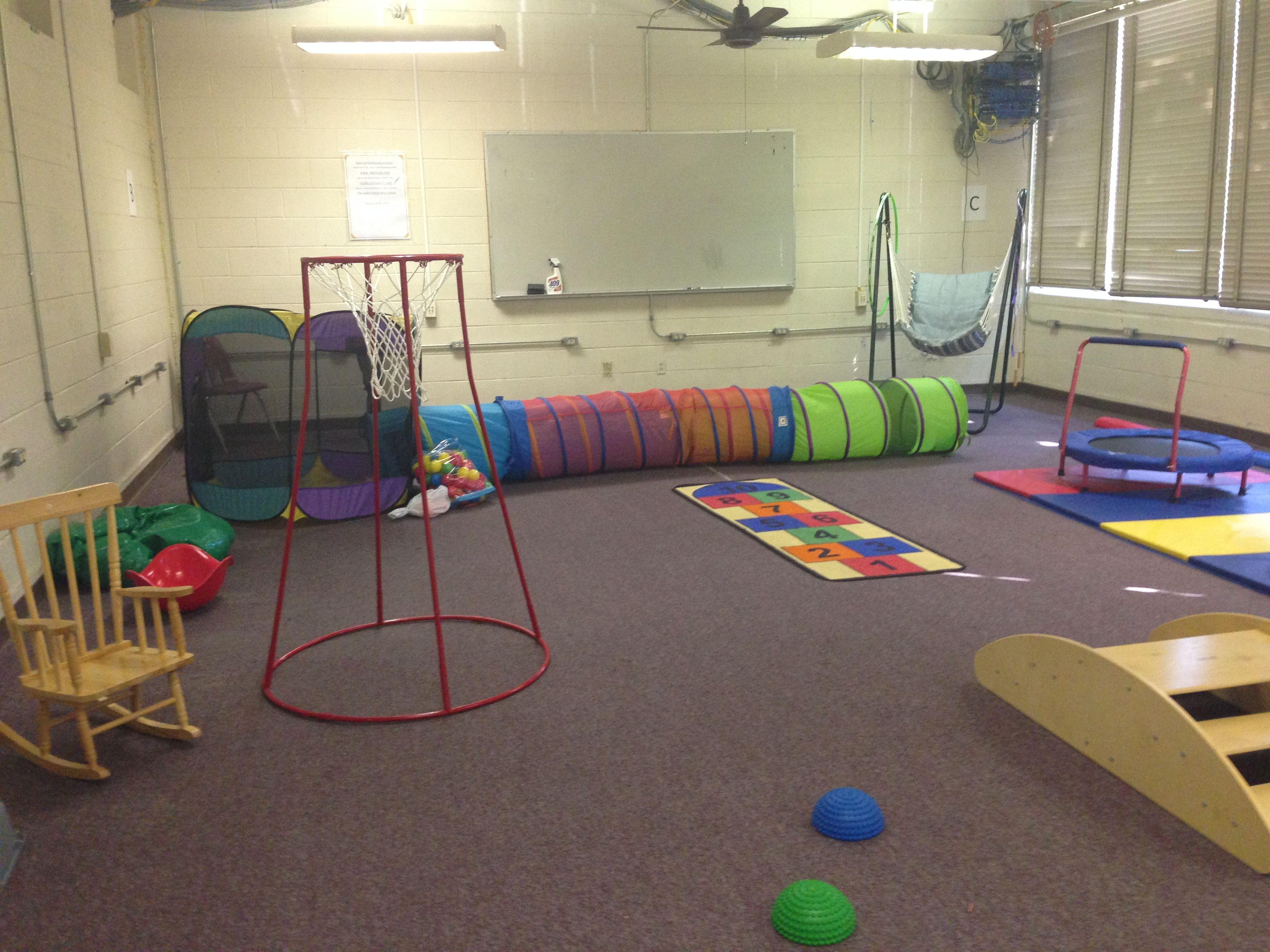 Gross Motor Room Autism Classroom Organization
