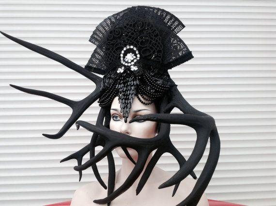 PRE SALE Dark caged Lilith Necromancer by PoshFairytaleCouture