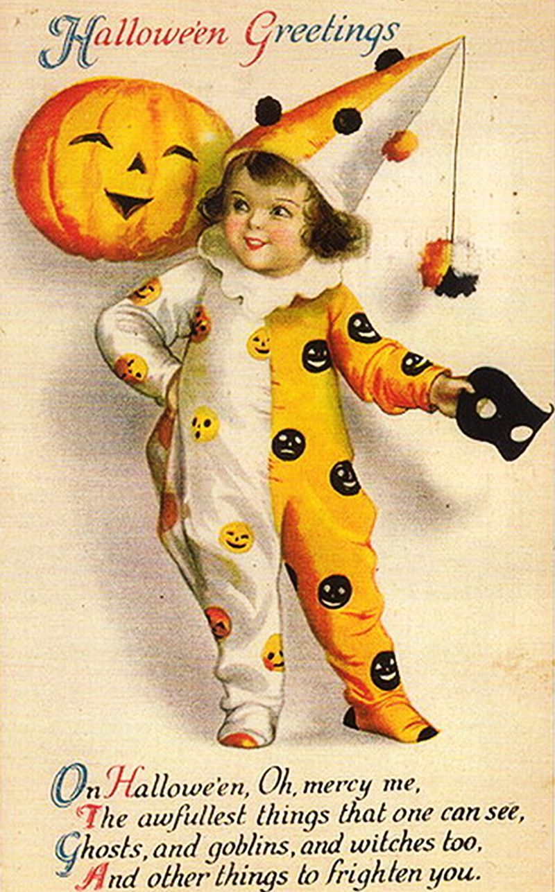 vintage halloween cards - Yahoo Image Search Results | vintage ...