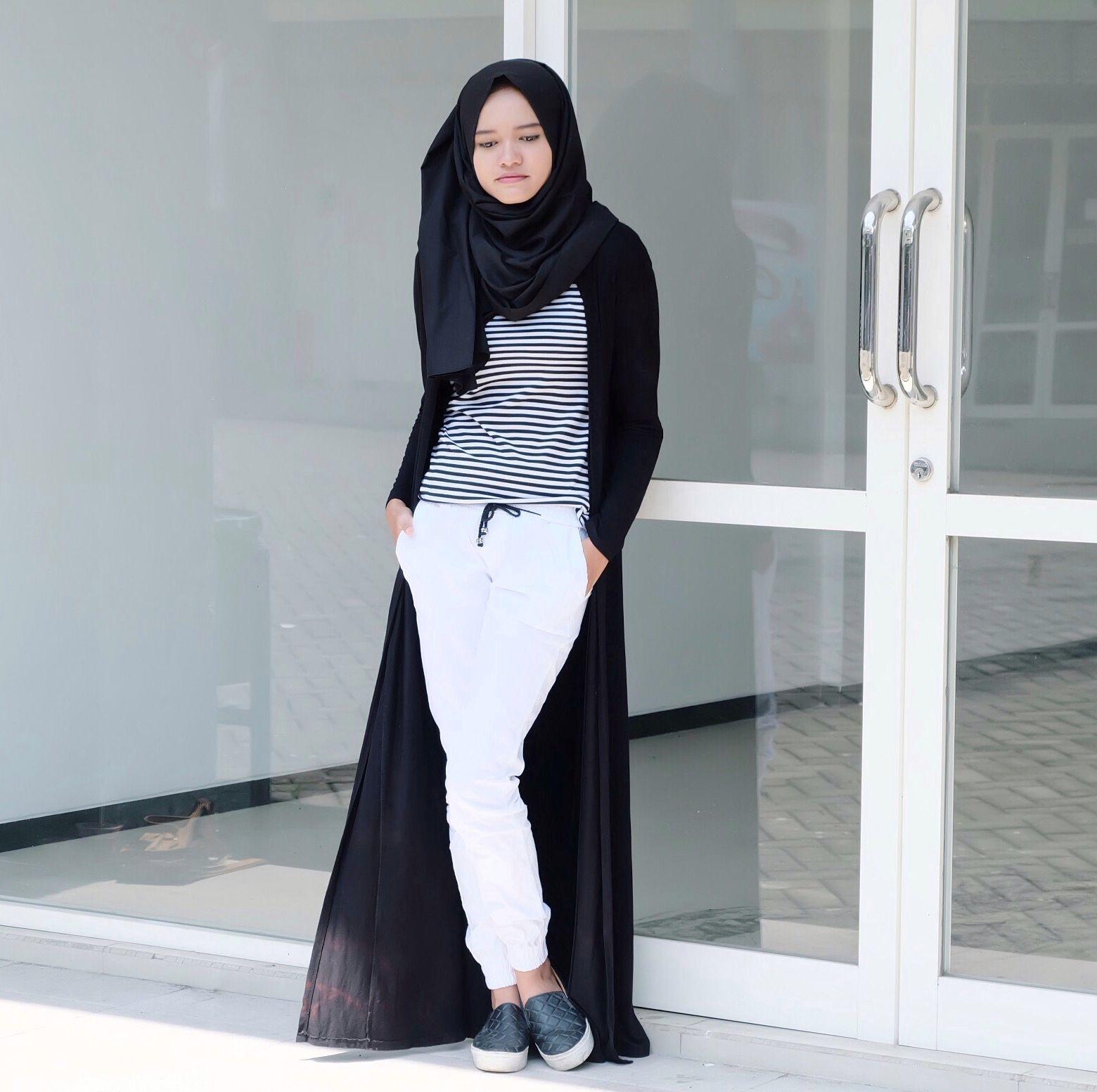 wonderful jogger pants hijab outfit dress