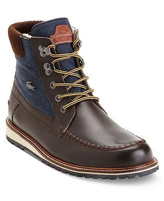 89c3088e7e4 Classic with a modern edge, Lacoste Lousteau Boots | Boots in 2019 ...