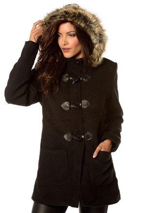 b32caa9dcce9 Γυναικείο παλτό μαύρο - Angelina Forever