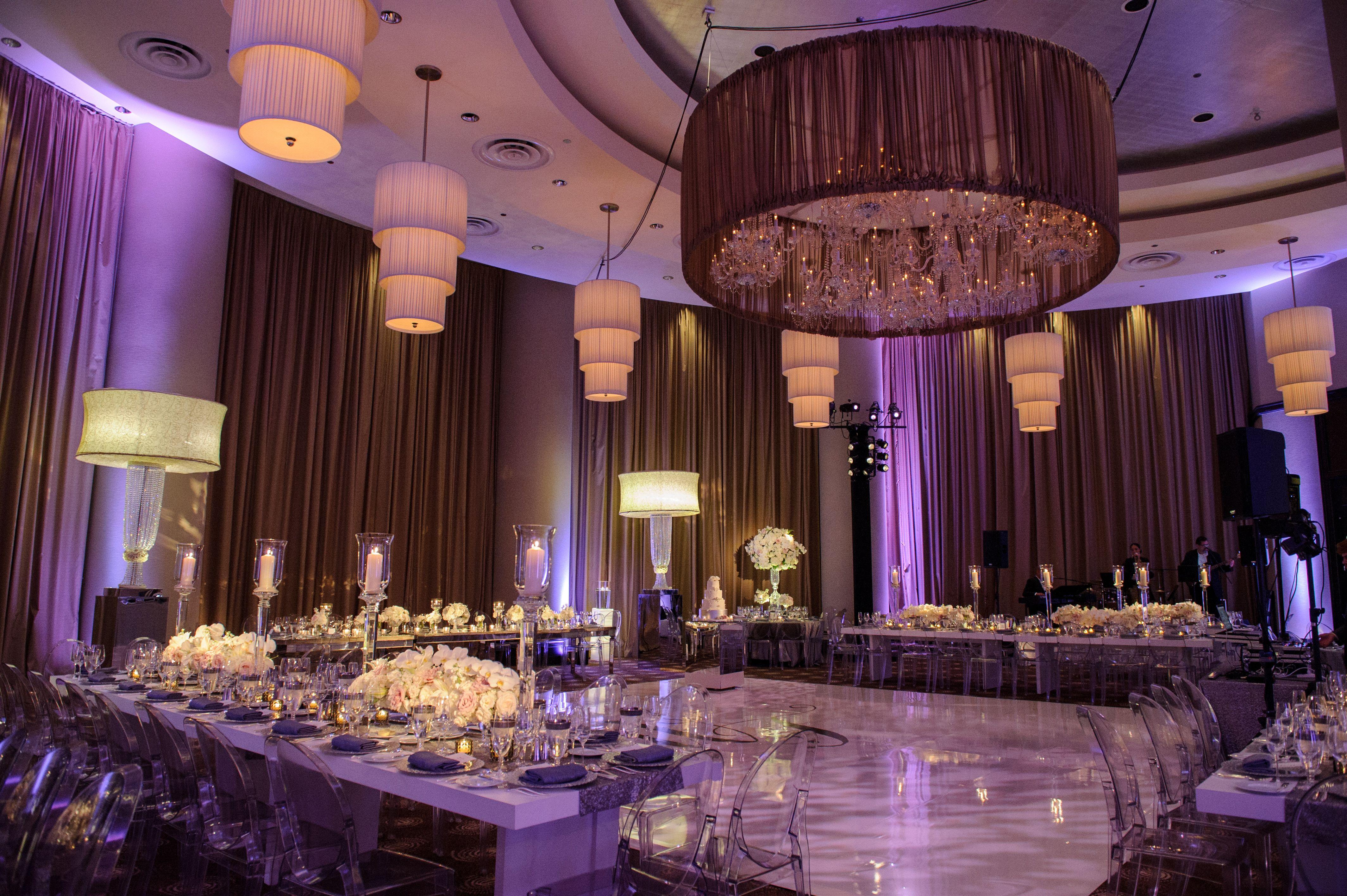 The Grand Ballroom at Trump Chicago can be beautifully ...