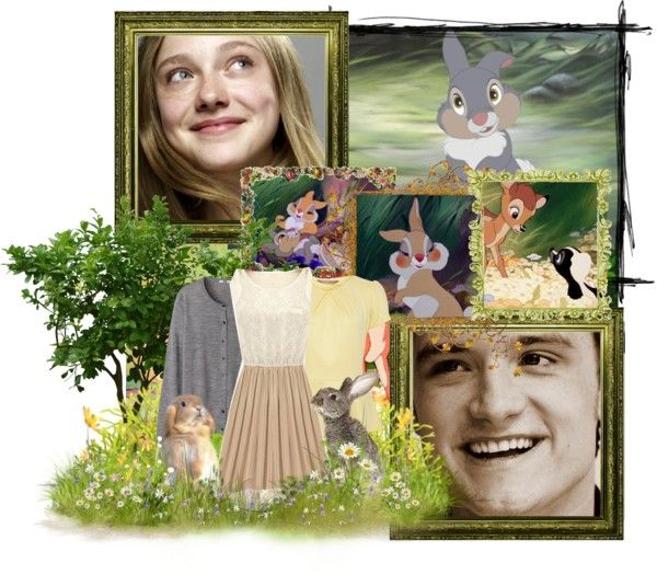 """""""Nearly everybody gets twitterpated in the springtime."""" by disneykid95 ❤ liked on Polyvore"""