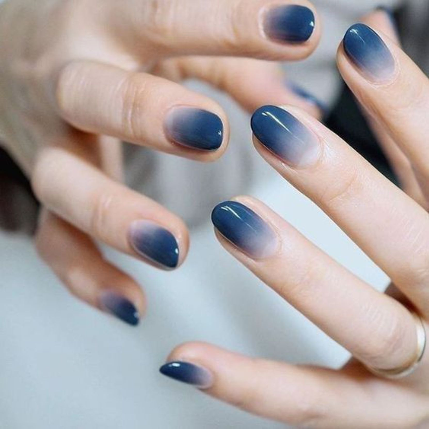 45 Classy Spring Nail Color Designs For Your Exceptional Style In 2020 Simple Nails Gradient Nails Gel Nails