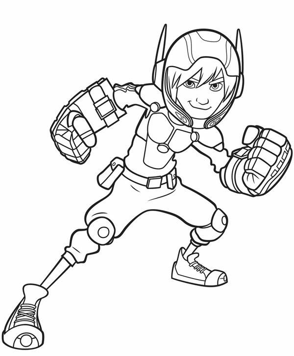 Dibujos para Colorear Big Hero 6 11 | Dibujos para colorear para ...