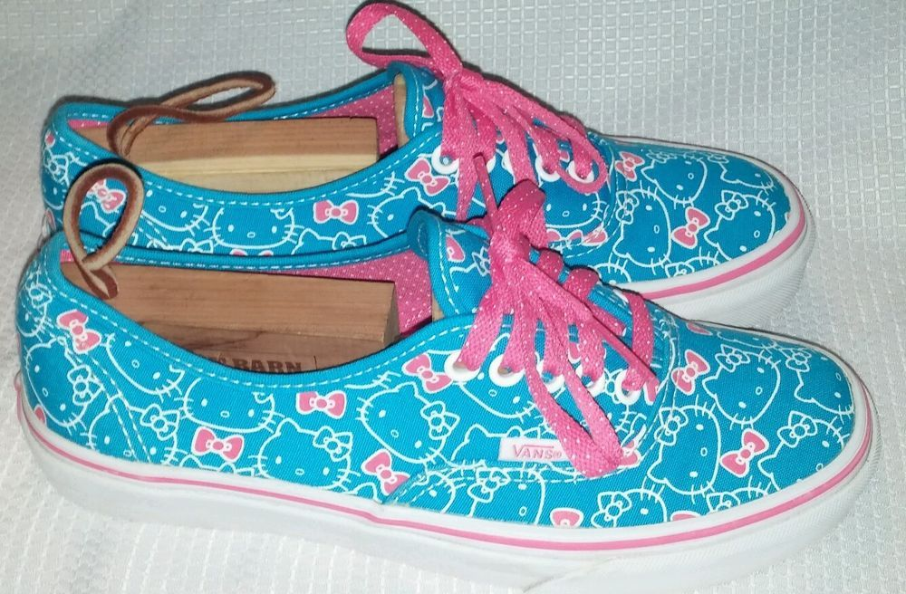 Womens Vans Authentic  HelloKitty Hawaiian Ocean Hot Pink Skate  Shoes Size  8 from  12.99 4cf4d5808