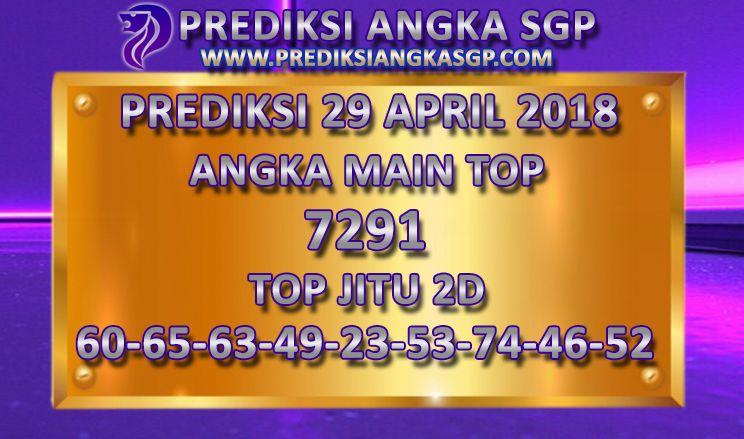 PREDIKSI TOGEL SGP MINGGU 29 APRIL 2018,Bocoran Togel Singapore
