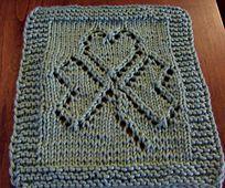 Ravelry: St. Patrick's Day Washcloth pattern by Mary C. Gildersleeve
