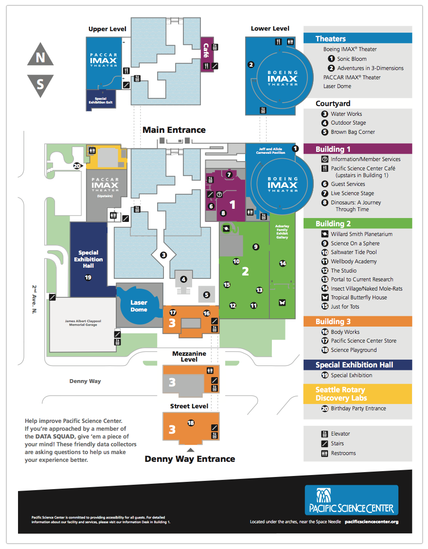 Plan Your Visit  Pacific Science Center  seattle  Pinterest