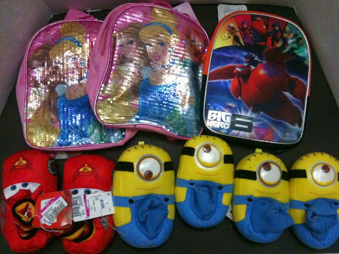 dc3fb59ce939 Small haul from Ross. 3 pairs of kids slippers at .49 cents each and ...
