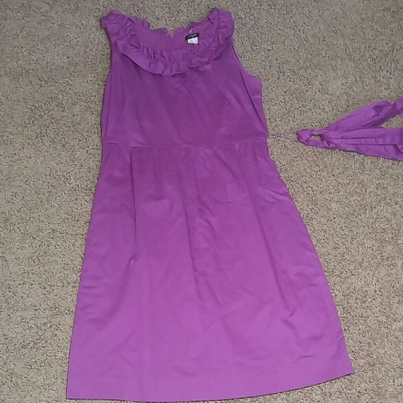 J. Crew Casual Dress Unworn, casual, purple, J.Crew Dress. No defects and can be worn on a variety of occasions! J. Crew Dresses Midi