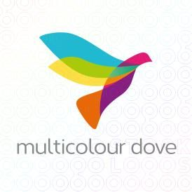Multicolourdovelogo dove recovery house pinterest logos multicolourdovelogo altavistaventures Images