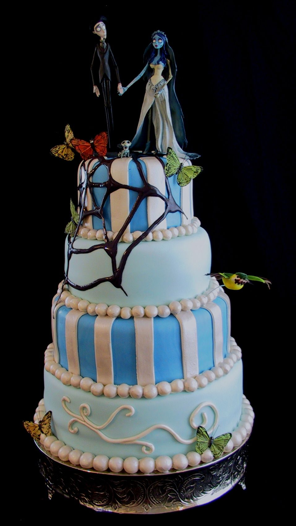 Cakes images wedding cake hd wallpaper and background photos - Corpse Bride Wedding Cake Corpse Bride Photo 32415231 Fanpop Fanclubs