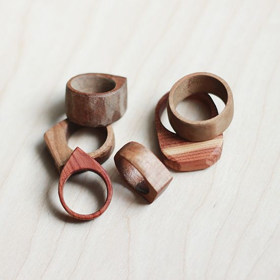 Simple Wooden Rings Crafts Wooden Diy Wooden Rings