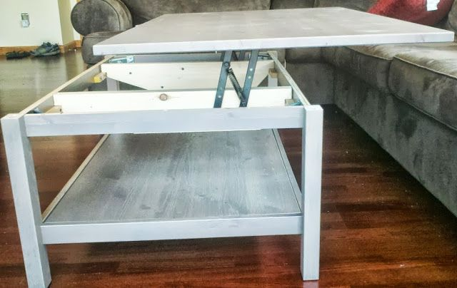 Hemnes Lift Top Coffee Table Ikea Hackers Lift Up Coffee Table