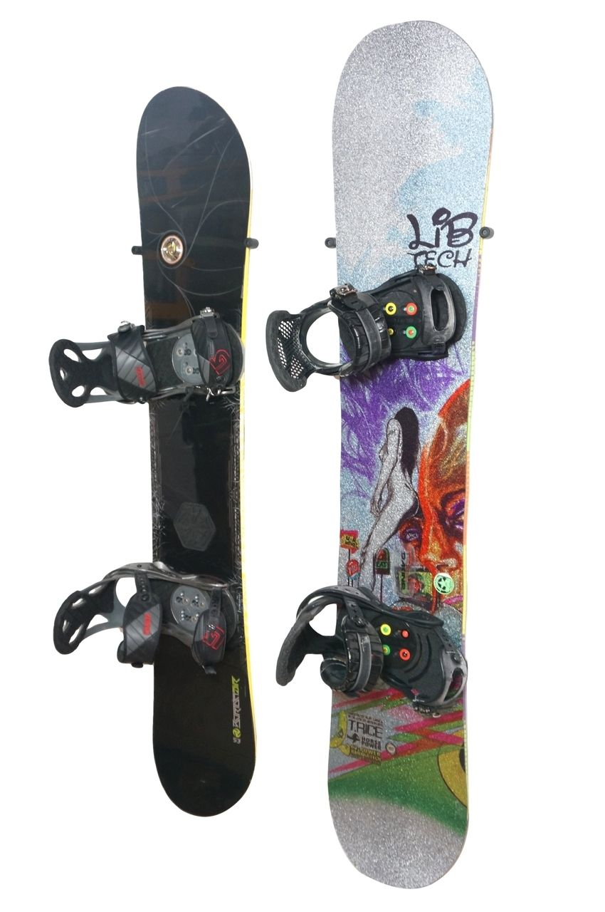 The Cinch The Simple Snowboard Wall Mount