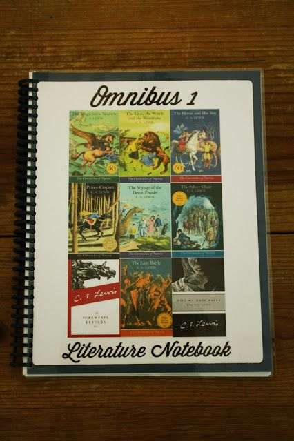 Journey to Narnia - Omnibus I Literature Study - Free Printable Notebook Pages