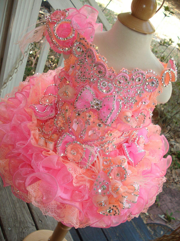 National Glitz Pageant Dress Custom Order by Nana Marie Designs ...