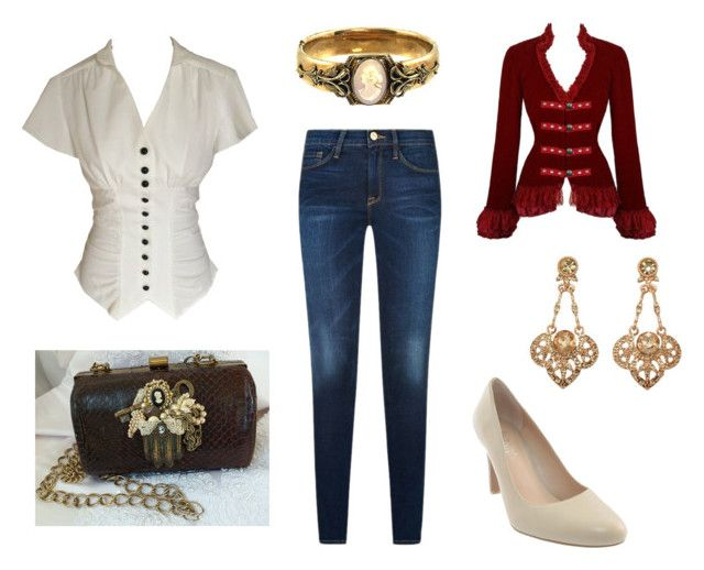 """""""Just an Old Fashioned Girl"""" by sassyladies ❤ liked on Polyvore featuring Franco Sarto"""