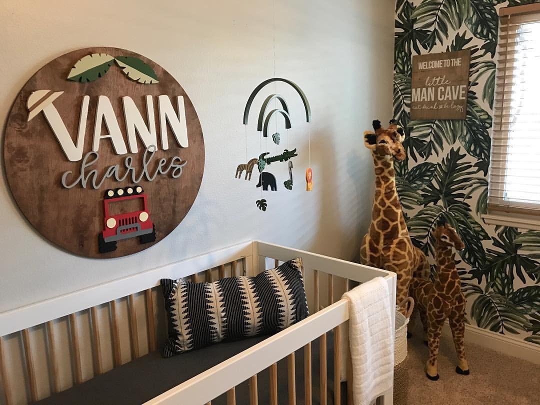 jungle theme nursery inspiration, #baby nursery for kids