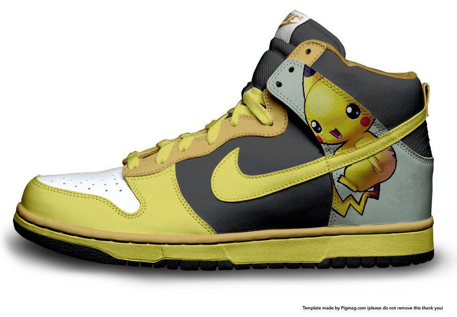 Nike Dunk Pikachu