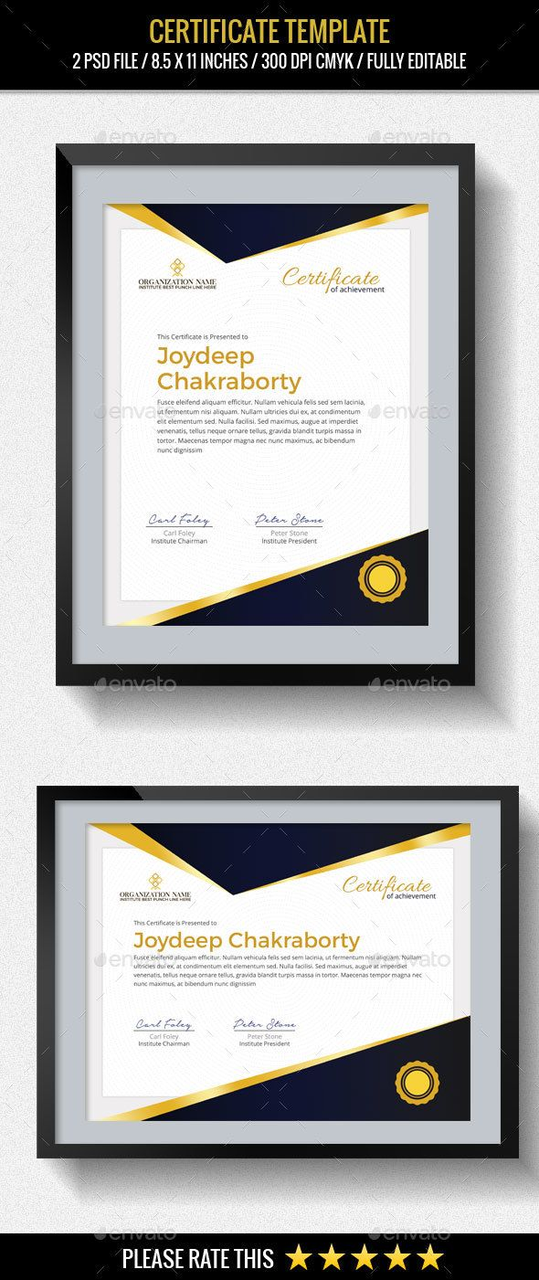 Multipurpose Certificates Template | Pinterest | Zertifikat