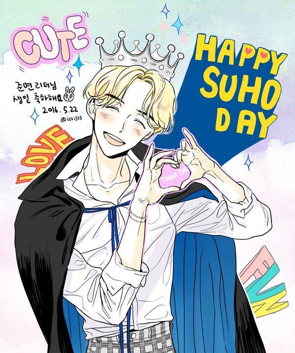 #HappySuhoDay