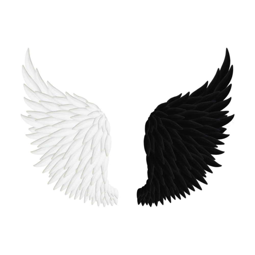 The Coolest Stickers Angel Wings Png Wings Png Angel Wings Drawing
