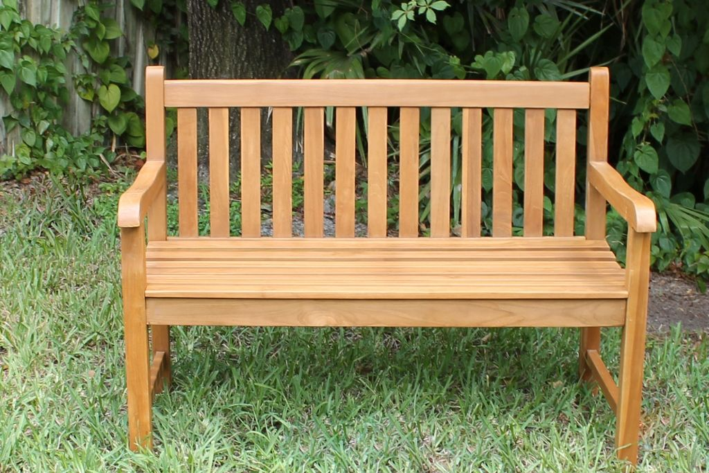 Java 48in Teak Bench | Oceanic Teak Furniture