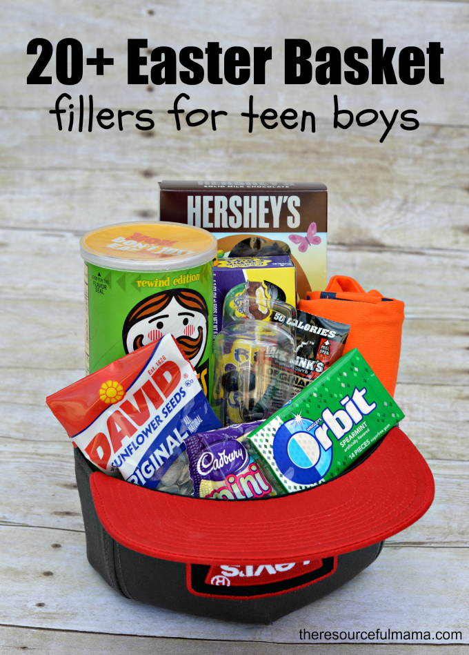 Teen boy easter basket and 20 ideas for fillers pinterest teen 20 easter basket fillers for teen boys negle Image collections