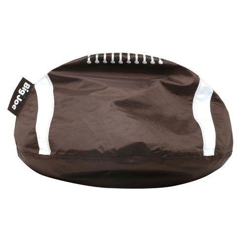 Sport Ball Bean Bag Chair Football Big Joe Brown Garage Hang Out Bean Bag Chair Bean Bag Football Bean Bag