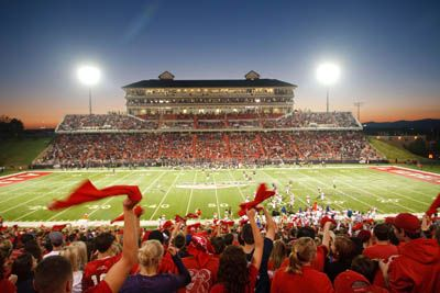 Packed Out William S Stadium Liberty University College Fun Virginia Is For Lovers
