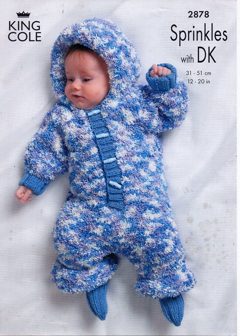 Original baby knitting pattern baby all in one jacket hat socks original baby knitting pattern baby all in one jacket hat socks king cole 2878 towelling yarn dk premature 12 20 hard copy paper pattern bankloansurffo Image collections
